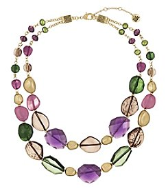 The Sak Two-Row Beaded Necklace