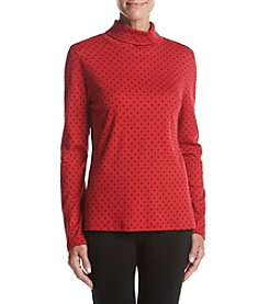 Studio Works Long Sleeve Dotted Tee
