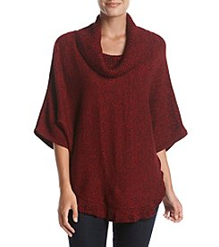 Studio Works Cowl Neck Poncho Sweater