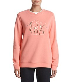 Breckenridge Crewneck Embellish Fleece Sweater