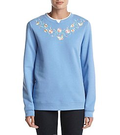 Breckenridge Crewneck Embellish Fleece