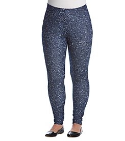 MICHAEL Michael Kors Plus Size Tweed Print Legging