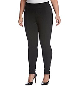 Jones New York Plus Size High Waist Leggings