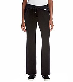 MICHAEL Michael Kors Drawstring Velour Pants