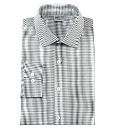 REACTION Kenneth Cole Checkered Slim Fit Dress Shirt