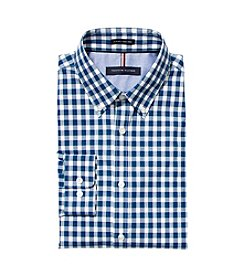 Tommy Hilfiger Gingham Button Down Dress Slim Fit Shirt