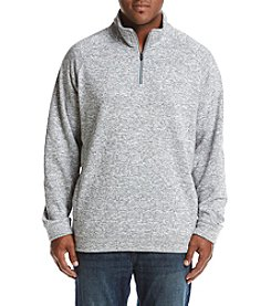 John Bartlett Consensus Men's Big & Tall Sweater Fleece 1/4 Zip Pullover