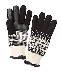 Isotoner Signature® Fairisle Print Gloves
