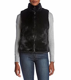 Cejon Sleeveless Faux Fur Vest