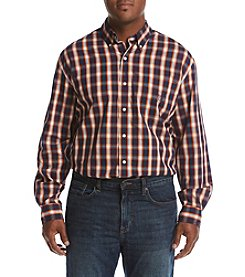 Chaps Men's Big & Tall Easycare Stretch Button Down