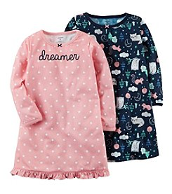 Carter's Girls' 8-14 2-Pack Sleep Gowns