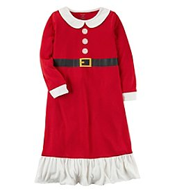 Carter's Girls' 4-14 Mrs. Claus Christmas Sleep Gown