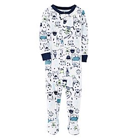 Carter's Boys' 12M-4T One Piece Glow-In-The-Dark Snug Fit Cotton Pajamas