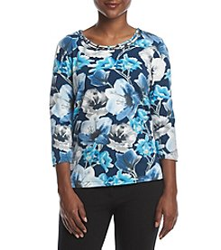 Alfred Dunner® Petites' Floral Top