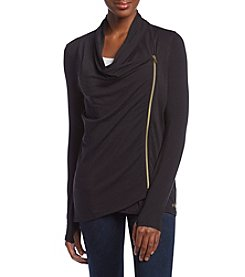 Warrior by Danica Patrick™ Asymmetrical  Wrap Jacket