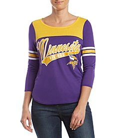 G III NFL® Minnesota Vikings Women's Touchdown Shirt