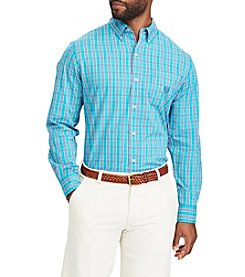 Chaps Men's Stretch Woven Button-Down Shirt