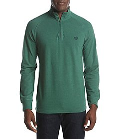 Chaps® Men's Long Sleeve Stretch Pique Pullover