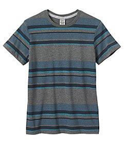 Calvin Klein Boys' 8-20 Short Sleeve Optic Crew Neck Tee