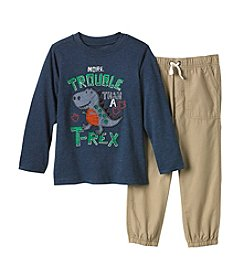Kids Headquarters® Boys 12M-4T T-Rex Tee And Jogger Pants Set