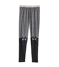 Jessica Simpson Girls' 7-16 Cat Face Leggings