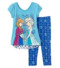 Disney® Girls' 2T-6X Frozen Pullover And Leggings Set