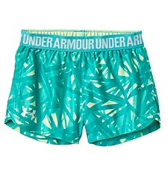 Under Armour® Girls' 4-6X Play Up Shorts