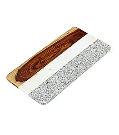Thirstystone Granite, Marble and Wood Rectangular Serving Board