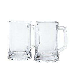 LivingQuarters Set of 2 Tavern Mugs