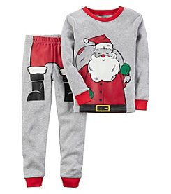 Carter's Boys' 12M-12 2 Piece Santa Snug Fit Cotton Pajamas