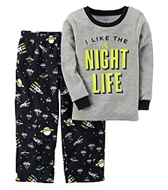 Carter's Boys' 12M-12 2 Piece Glow-In-The-Dark Cotton Pajamas