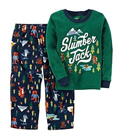 Carter's Boys' 12M-10 2 Piece Slumber Jack Fleece Pajamas