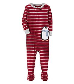 Carter's Boys' 2T-4T One Piece Penguin Snug Fit Cotton Pajamas