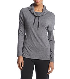 Calvin Klein Performance Asymmetric Colorblock Cowl Top