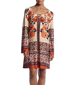 Oneworld® Floral Knit Dress