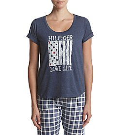 Tommy Hilfiger® Varsity Graphic Print Pajama Top