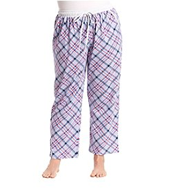 KN Karen Neuburger Plus Size Plaid Sleep Pants
