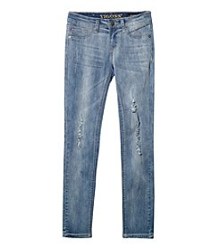 Vigoss® Girls' 7-16 Shadow Pocket Skinny Jeans