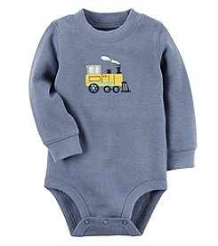 Carter's Baby Boys' Thermal Train Bodysuit