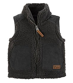 Carter's Baby Boys' 3M-24M Sherpa Lined Zip Front Vest