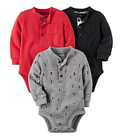 Carter's Baby Boys' 3-Pack Thermal Original Bodysuits