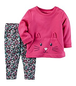 Carter's Baby Girls' 2-Piece Character Top and Leggings Set