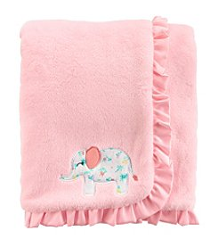Carter's Baby Girls' Elephant Plush Blanket