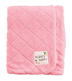 Carter's Baby Girls' Always Happy Plush Blanket