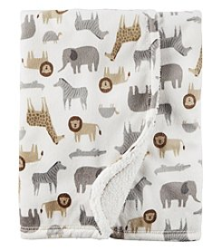 Carter's Safri Plush Blanket