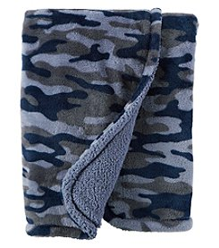 Carter's Baby Boys' Camo Plush Blanket