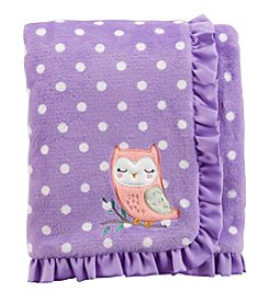 Carter's Baby Girls' Owl Plush Blanket