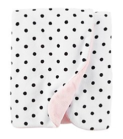 Carter's Baby Girls' Polka Dot Plush Blanket