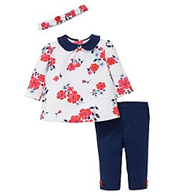 Little Me® Baby Girls' Floral Tunic Set
