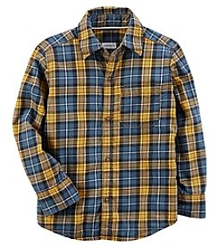 Carter's Baby Boys' Plaid Button-Front Shirt